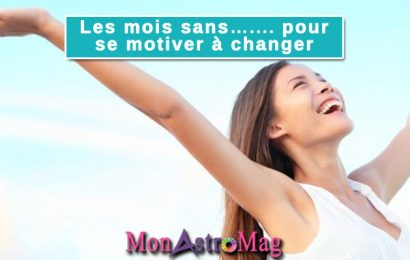 Les mois sans…. Pour se motiver à changer !!