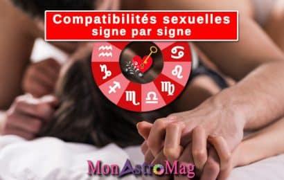 Compatibilités sexuelles : Avec quel signe êtes-vous compatible au lit ?