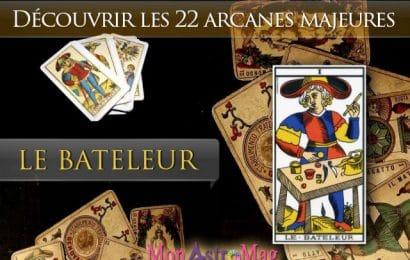 Tarot de Marseille – carte Le Bateleur (Arcanes Majeurs)