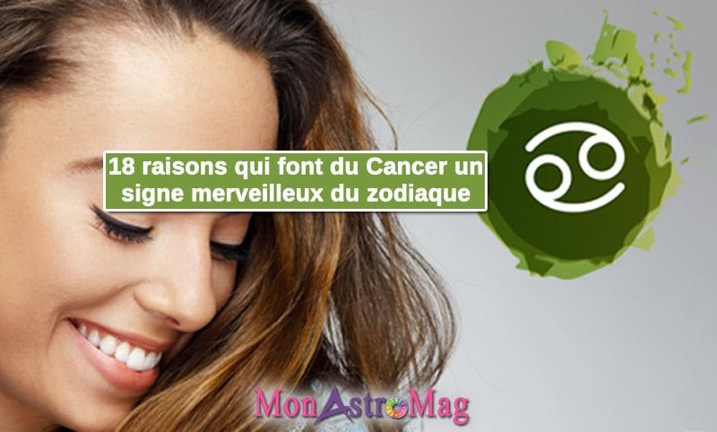 18 raisons qui font du Cancer un signe merveilleux du zodiaque