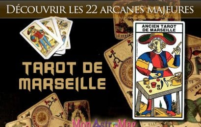 Les 22 Arcanes Majeurs du Tarot de Marseille