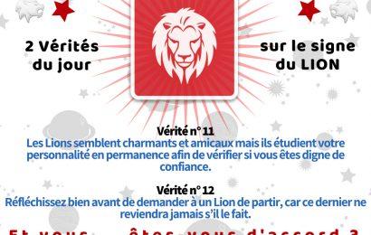 30 Vérités sur le Natif du LION (partie °2 et °3)
