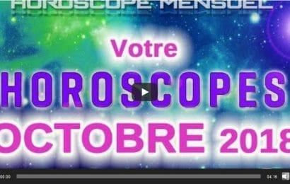 Vidéo Horoscope du mois d'Octobre 2018