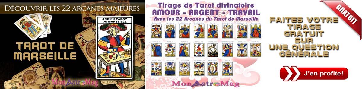 Découvrez votre Tirage Tarot AMOUR ARGENT TRAVAIL Gratuit sur les 22  Arcanes du Tarot de Marseille. e5127f472672
