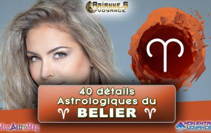 40 details sur le signe astrologique du BÉLIER