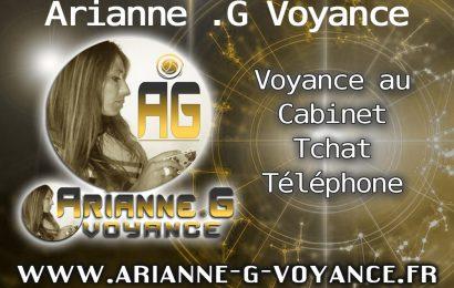 La voyante Arianne .G Voyance est en ligne