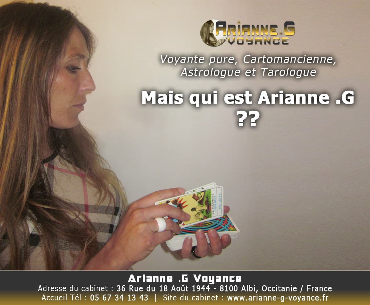 Mais qui est Arianne .G
