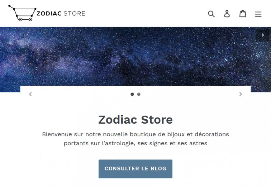 Zodiac Store, LA boutique de bijoux et accessoires Astrologiques
