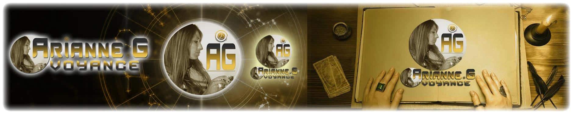 Page du Cabinet Arianne .G Voyance